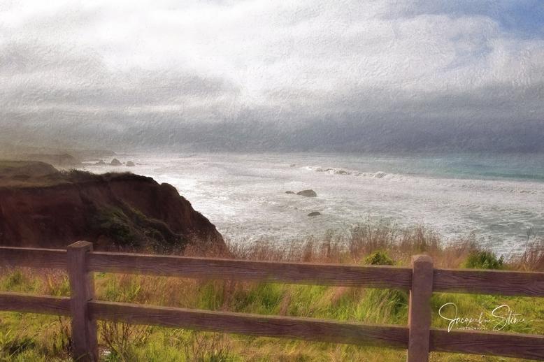 Rocky Coastline in Northern California