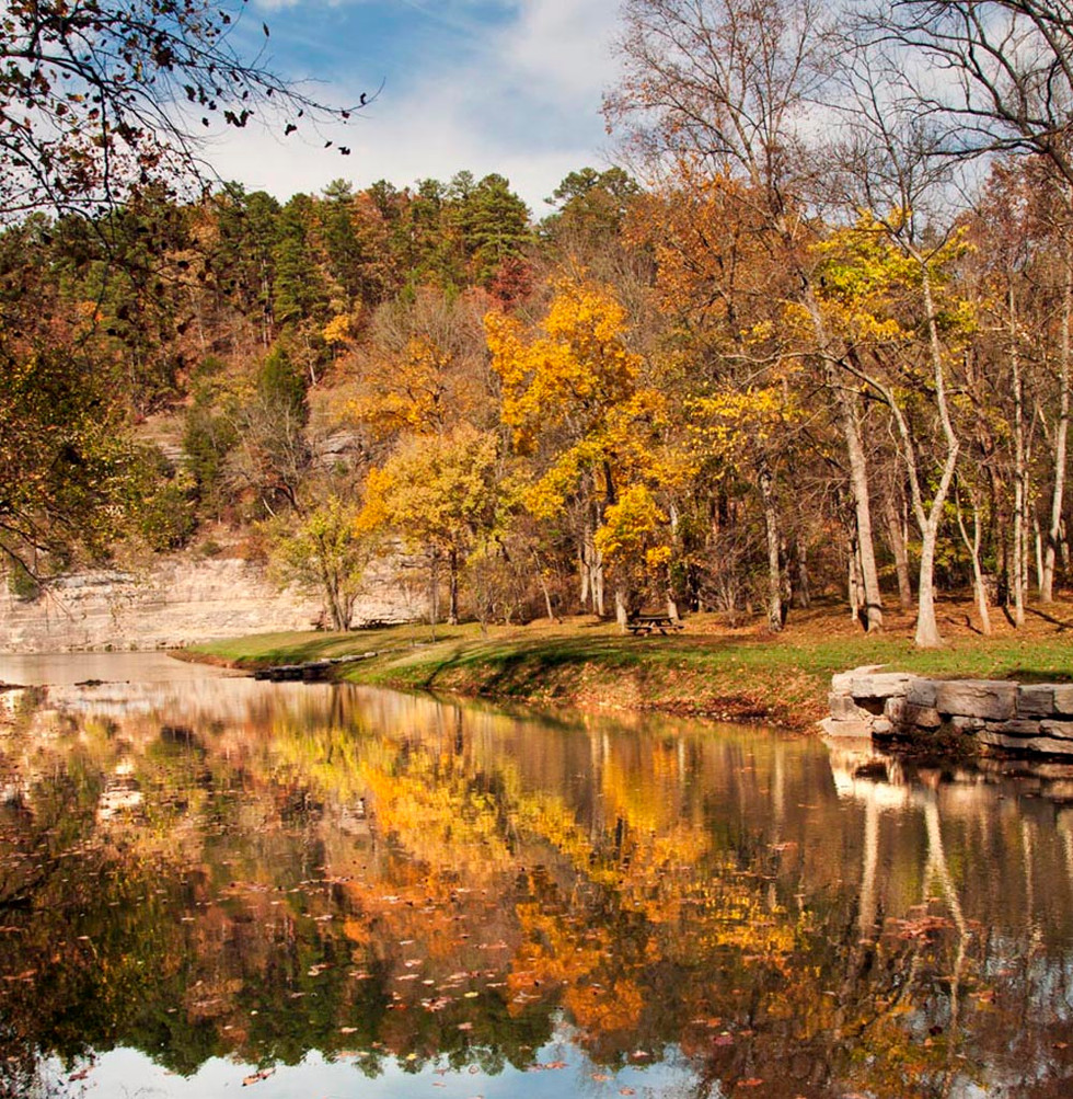 October in Dogwood Canyon