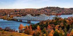 18X36 Autumn Bridge