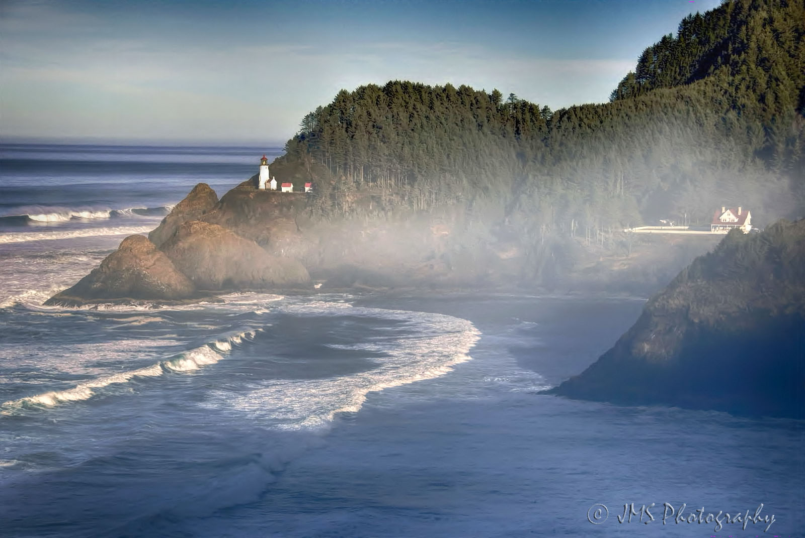 Cape Perpetua in the Mist