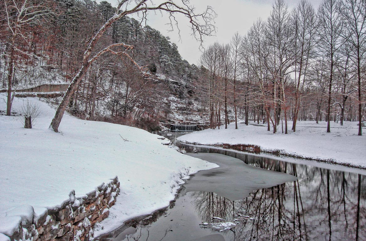 Dogwood Canyon Winter
