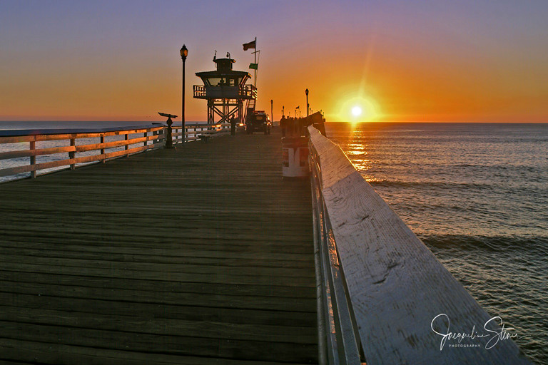 Pier in San Clemente