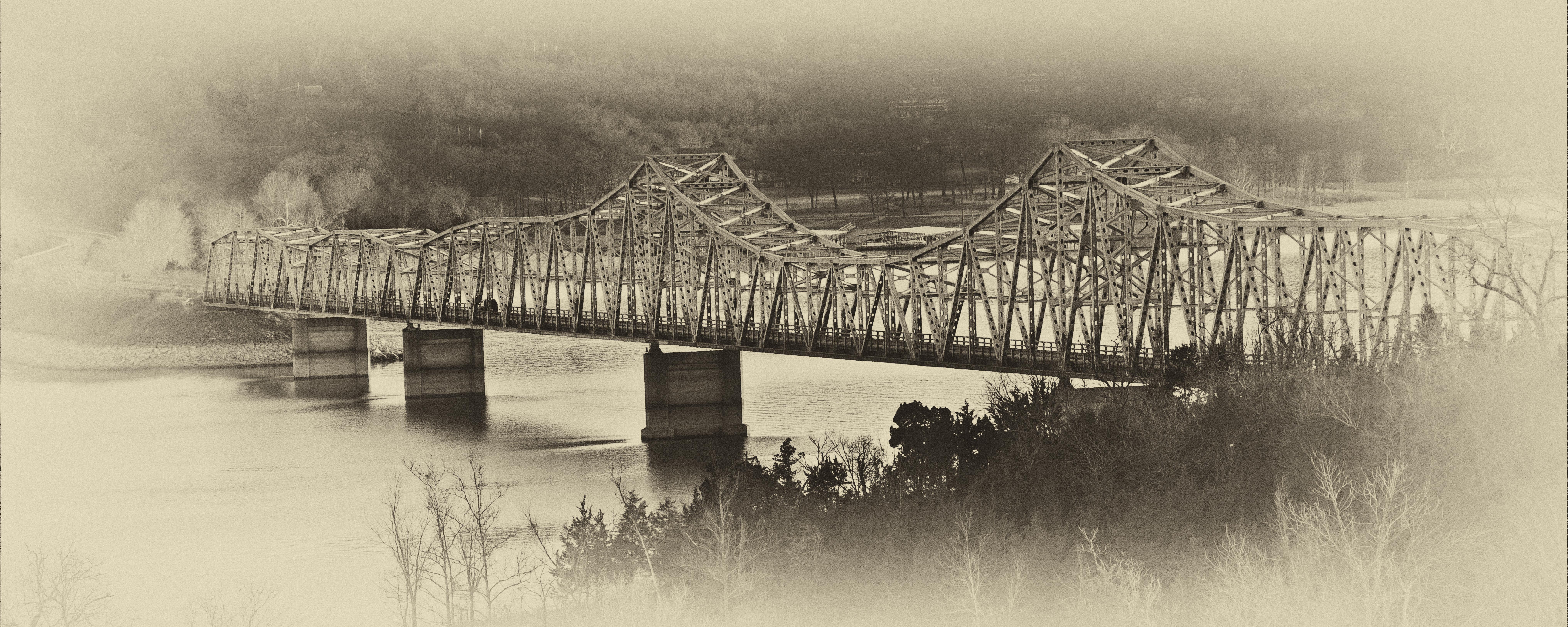 Antiqued Bridge