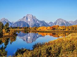 Mt Moran - The Grand Tetons - Wyoming