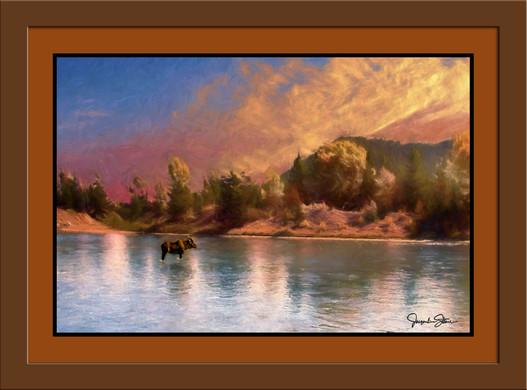Sundown in Montana