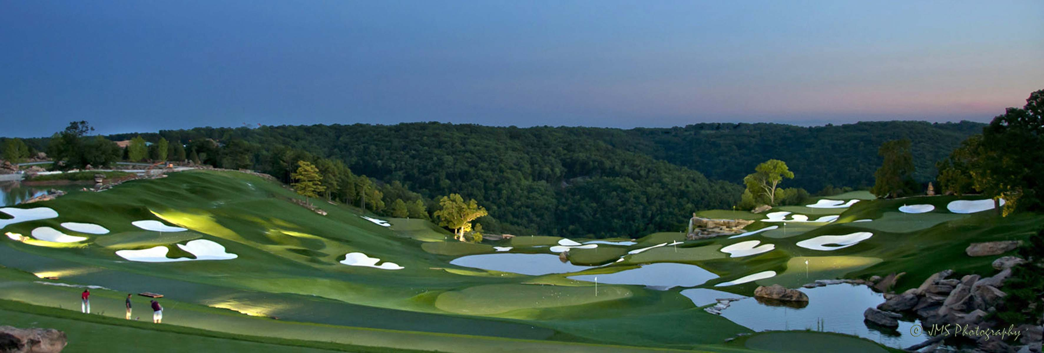 Driving Range at Top of the Rock - Missouri