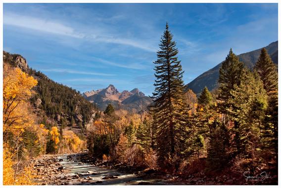 View from Durango Train