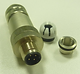 M12 metal shielded connector-aviation co
