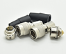 Push-pull self-locking connector HR10A-1