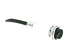 DIN metal connector