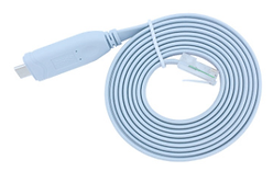 TYPE-C to RJ45 console cable RS232 for C