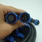 Plastic waterproof connector SP1710-S3+S