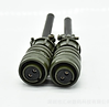 Waterproof aviation plug MS3106A12S-3S m
