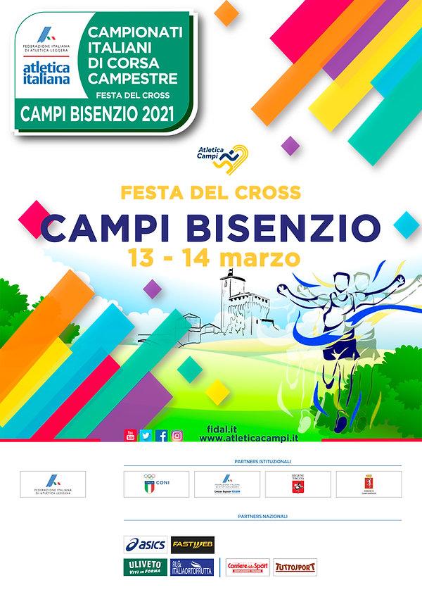 15 - 02 - 21 Locandina Campionati Cross.
