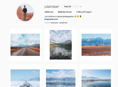 7 Photographers you must follow on instagram 2018