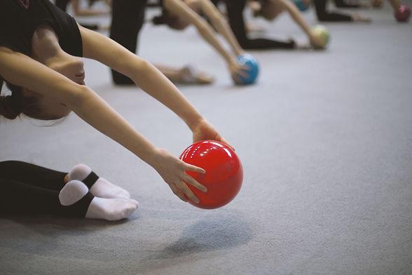 sfera relativa alla ginnastica