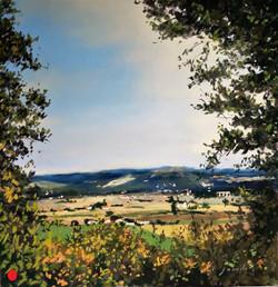 La plaine d'Agen Pastel40x40