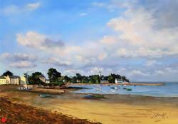 Port Navalo Pastel 46x61
