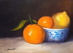 Clémentines et citron