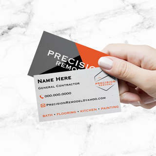Precision Remodel Business Cards