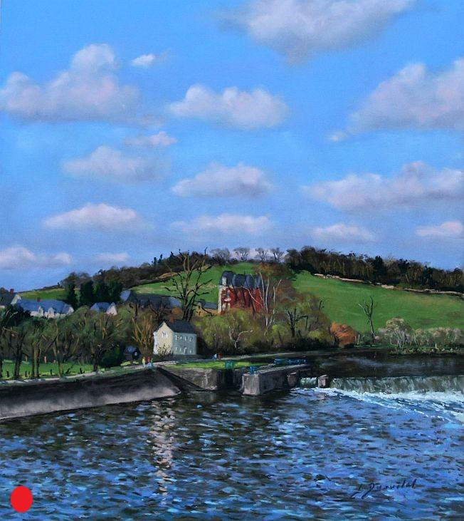 Port Rhingeard Pastel 50x50