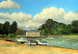 Le Lindin  Pastel 35x50