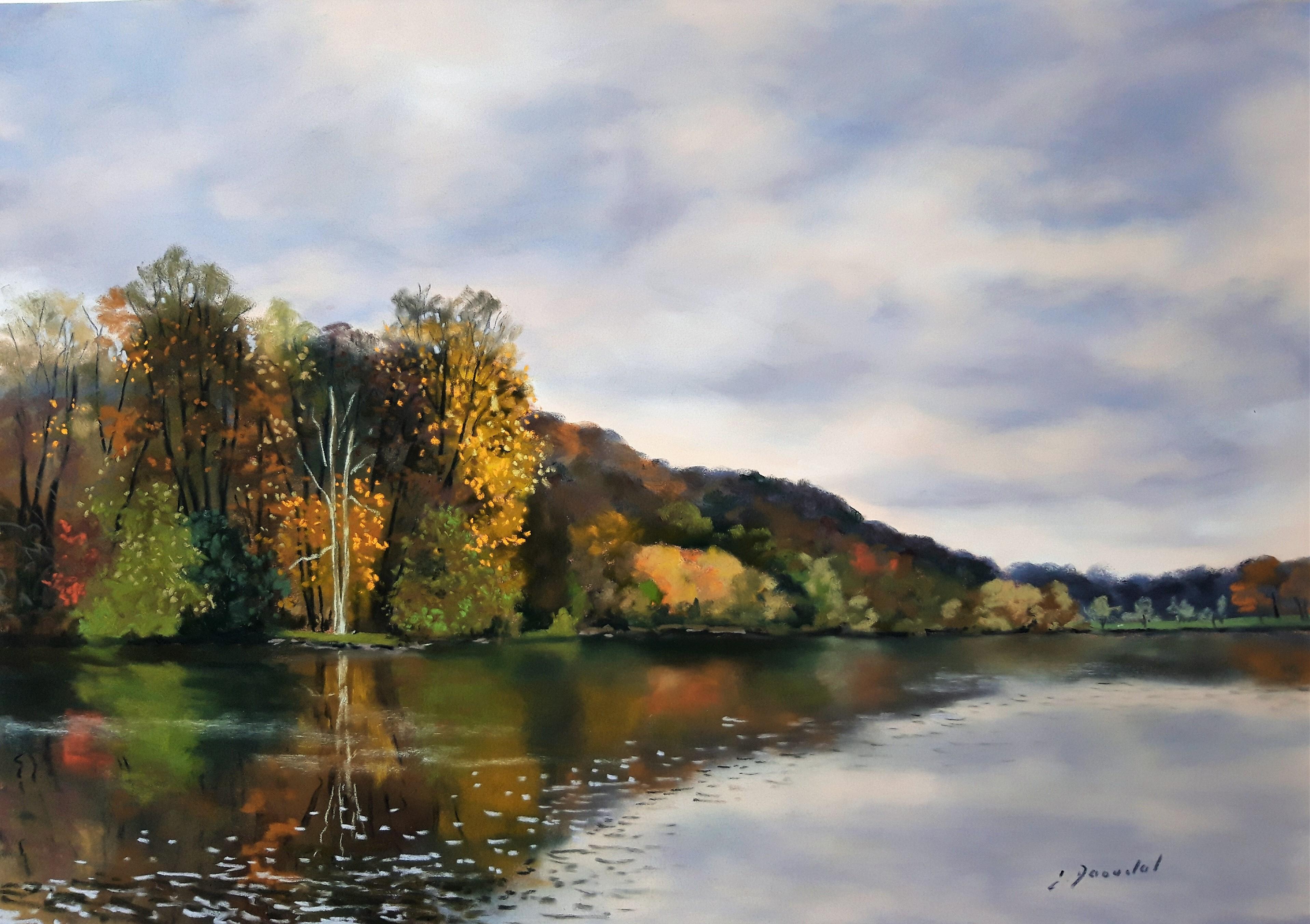 Début d'automne Pastel 35x50