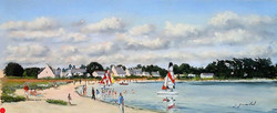 Les catamarans Pastel18x43