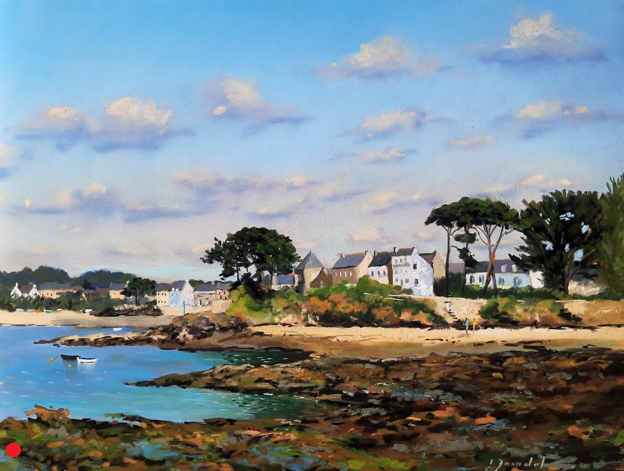 Port Navalo Pastel 35x50