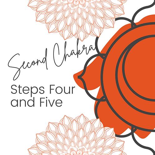 Second Chakra Steps 4 5 - Workbook