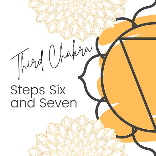 Third Chakra Steps 6 7- Workbook