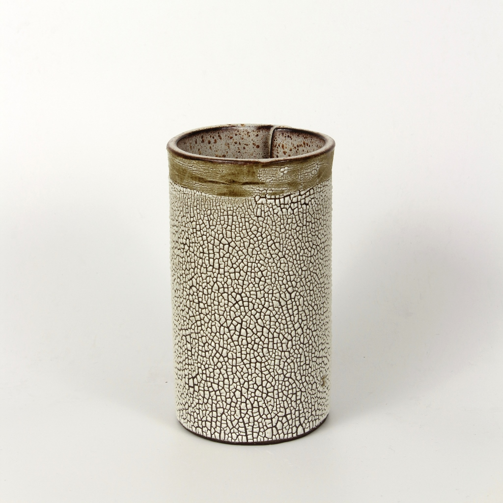 Cylindrical Vase with Crawl