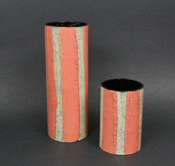 Pink & White Vases