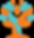 hands and tree logo, hands circling tree logo, Seniors Living Well, LLC logo