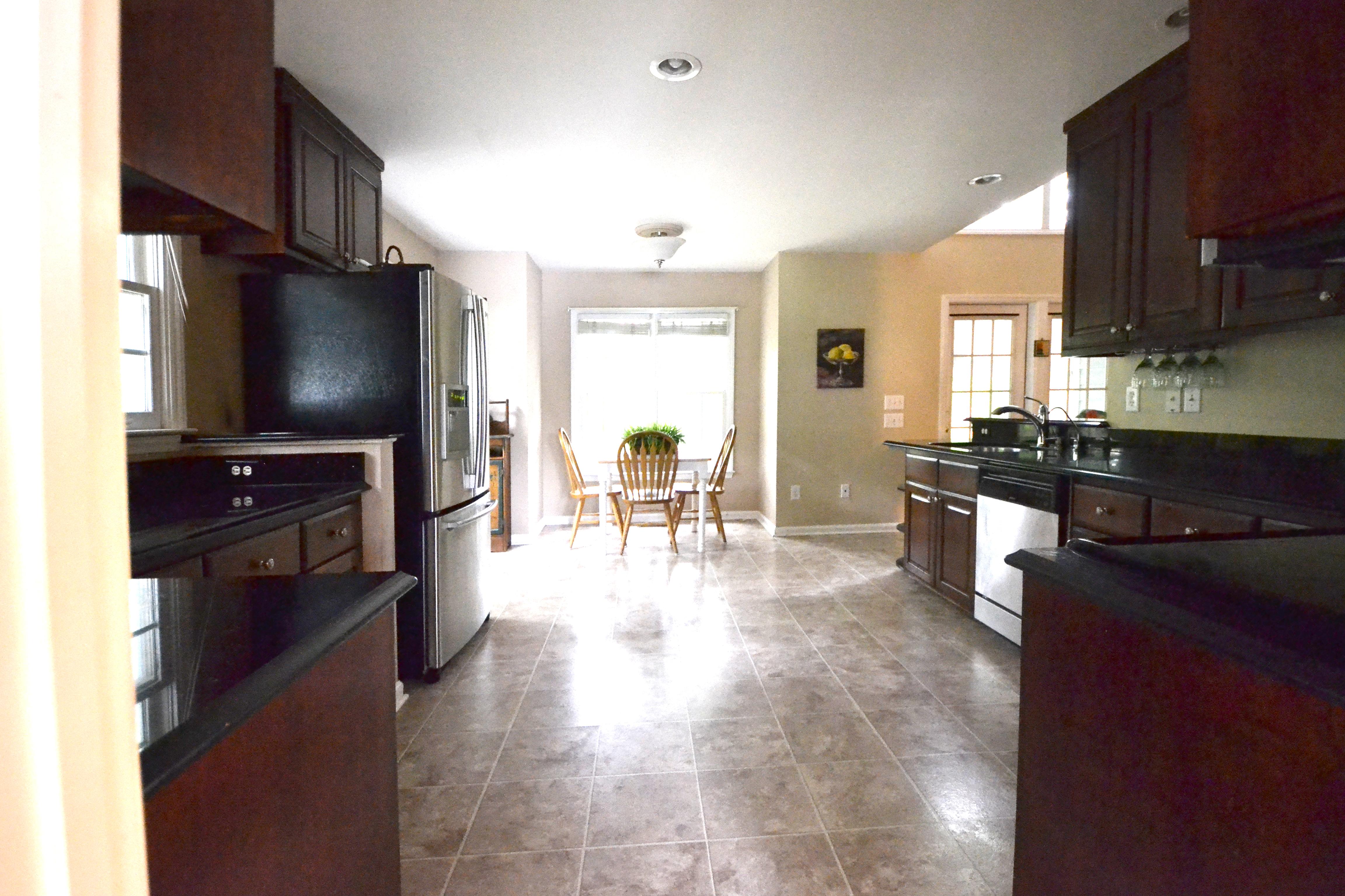 Solid Wood Cabinets & Granite