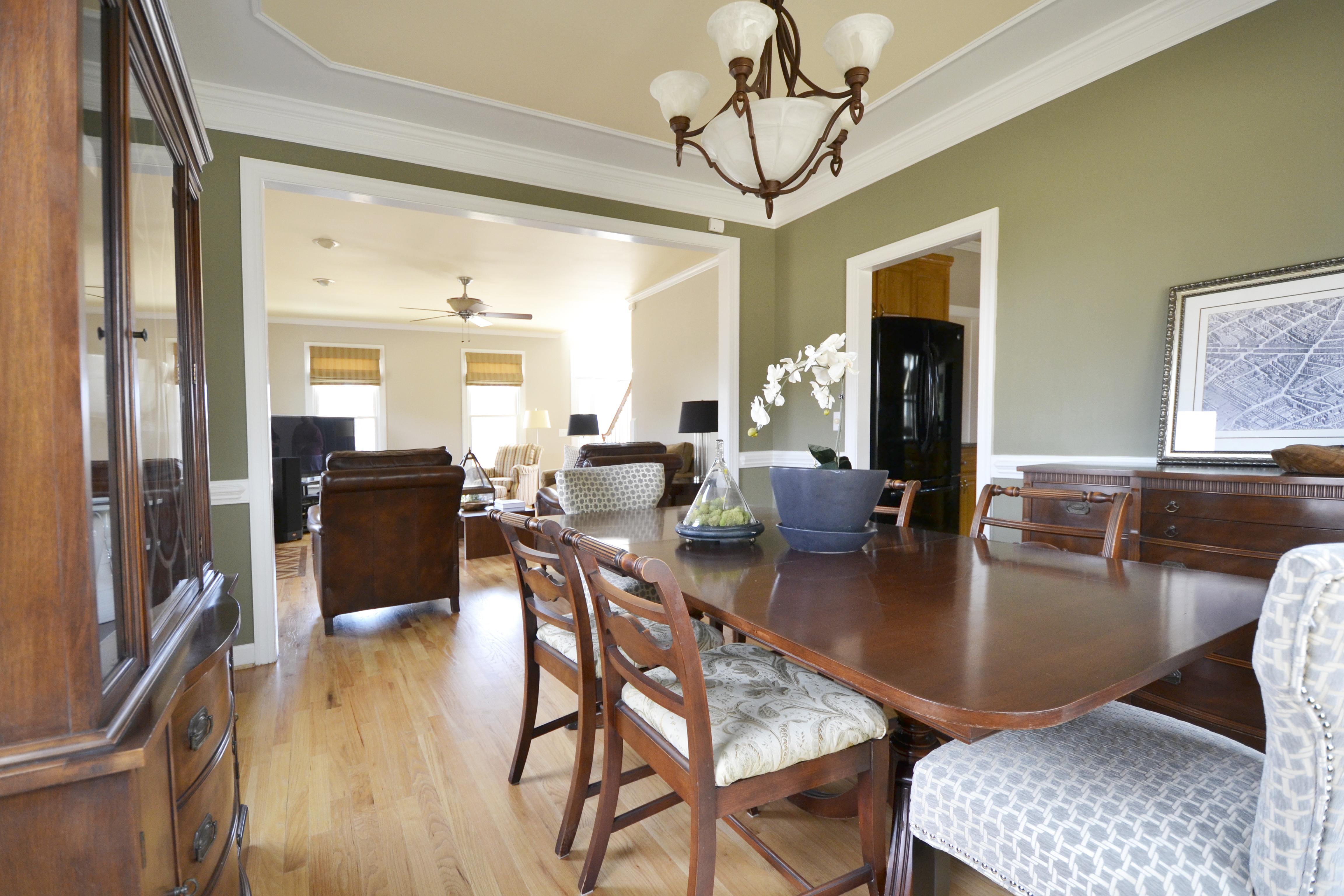 Dining onto Living room