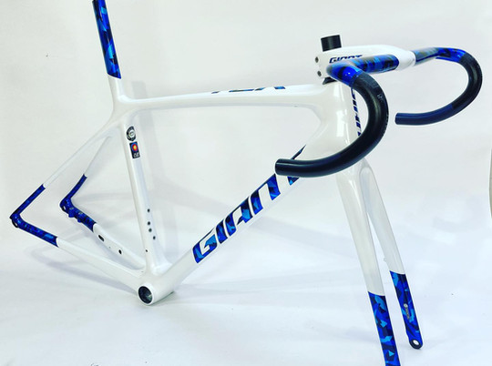 Blue camo TCR