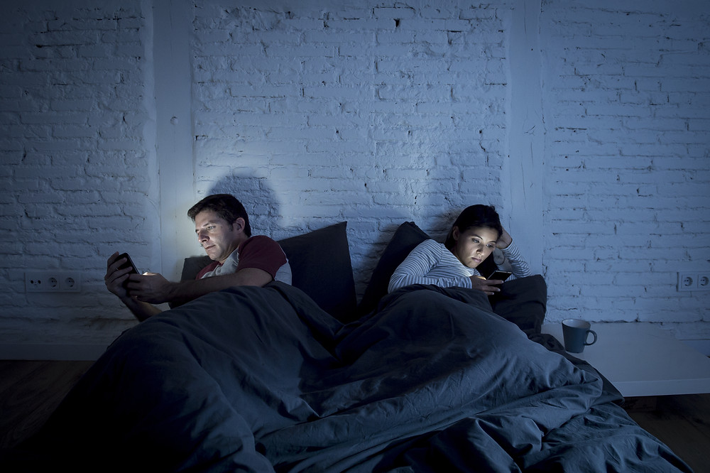 Using your phone close to bed time stimulates the brain and keeps you awake. Retrain your brain to sleep better.  Cognitive Behavioural Therapy for Insomnia is the recommended form of treatment for sleep disorders in the UK. The CBT therapists at Good Thinking Therapies in Abingdon, Oxfordshire are advance CBT-i trained and can offer help and support in improving your sleep.