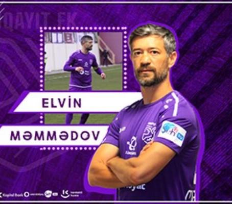 Elvin Məmmədovla yeni müqavilə
