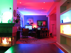 Battery Powered Lights at Home