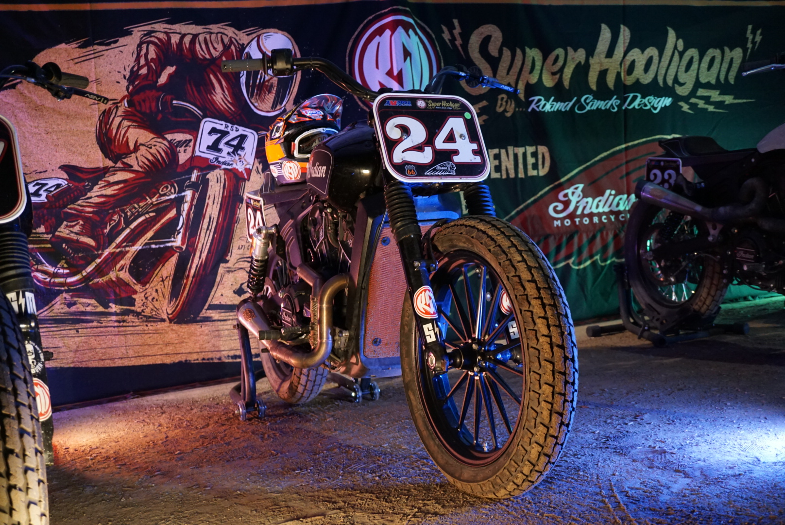 Harley Dirt Track Racing Bike