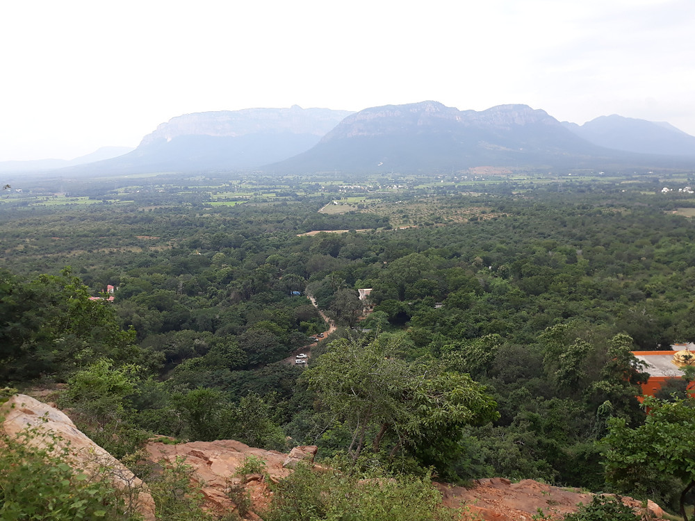 View from Nagari Hill top