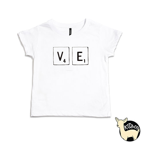 BABY TEE LOVE LETTERS