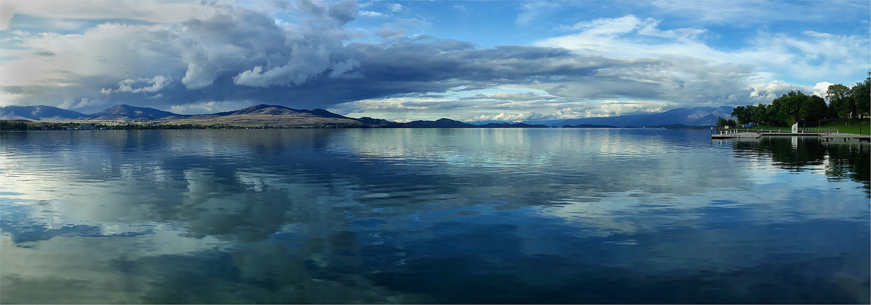 Lake Flathead Panorama