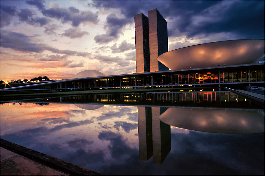 Brasilia  reflection x