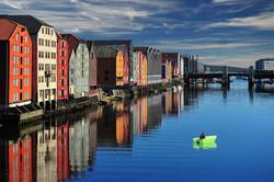 Trondheim waterfront