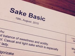 Sake Basic Lecture Ⅱ