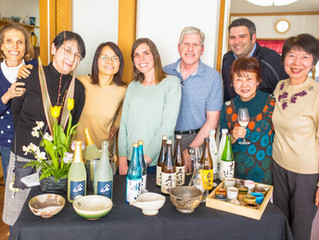米国人宅 Sake Tasting Party