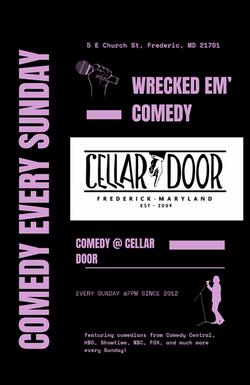 Cellar Door Comedy Every