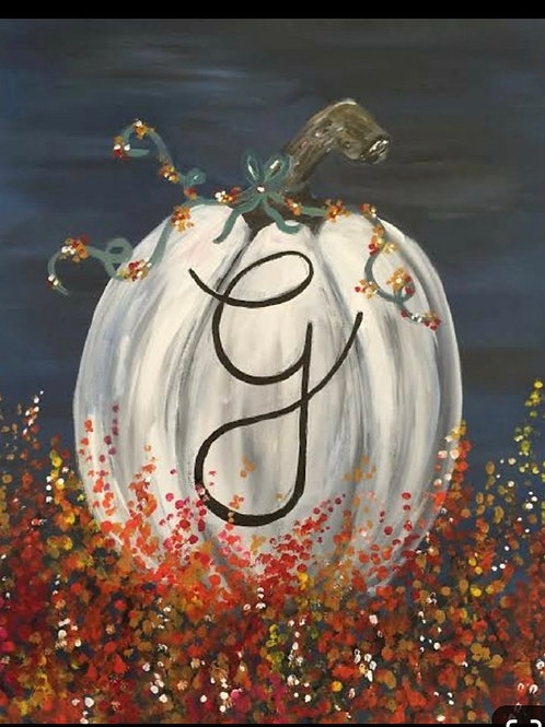 October 19th Paint n' Sip